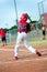 Stock Image : Little league batter