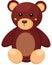Stock Image : Little teddy bear toy
