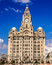 Stock Image : Liverpool Liver Building