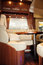 Stock Image : Living Quarters in Luxury Motorhome