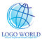 Stock Image : Logo world