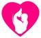 Stock Image : Logotipo del día de madres