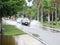 Stock Image : Lokale overstromende debby orkaan