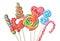Stock Image : Lollipops