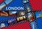 Stock Image : LONDON Film Strips