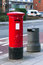 Stock Image : London red post box