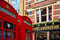 Stock Image : London Red Telephone Booth