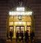Stock Image : London Ritz Hotel at Night