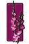 Stock Image : Long orchids clip art purple