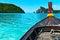 Stock Image : Longboat in Thailand