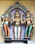 Stock Image : Lord Murugan and his two wives.