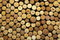 Stock Image : A lot of wine corks