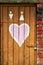 Stock Image : Love door
