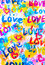Stock Image : Love words background