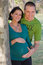 Stock Image : Loving pregnant couple