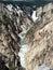 Stock Image : Lower fall in yellowstone