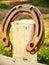 Stock Image : Lucky horseshoe