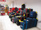 Stock Image : Luggage for sale on display.