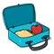 Stock Image : Lunch box illustration