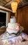 Stock Image : Luxurious wedding cake
