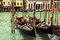 Stock Image : Luxury gondolas in Venice