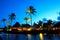 Stock Image : Luxury sunset in Mauritius
