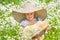 Stock Image :  mały dziewczyna spacer