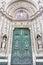 Stock Image : Main door of Santa Maria del Fiore