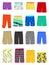 Stock Image : Male shorts