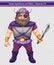 Stock Image : Male viking