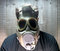 Stock Image : Man in gas mask