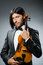 Stock Image : Man violin player