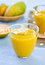Stock Image : Mango and Orange smoothie