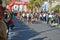 Marathon Leading Woman.