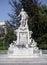 Stock Image : Marble Mozart statue Vienna