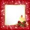 Stock Image :  Marco mágico azul de la Navidad