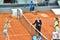 Stock Image : Maria Sharapova at the WTA Mutua Open Madrid