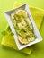 Stock Image : Marinated zucchinis with lemon