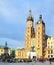Stock Image : Market Square in Krakow