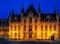 Stock Image : Provincial Court, Market Square, Bruges