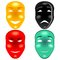 Stock Image : Mask set