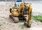 Stock Image : Mechanical excavator