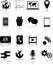 Stock Image : Media icons