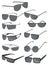 Stock Image : Mens sunglasses