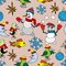 Stock Image : Merry Christmas background. Seamless texture.
