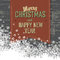 Stock Image : Merry Christmas Card With  Space For Text.