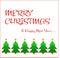 Stock Image : Merry christmas wish