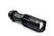 Stock Image : Metal flashlight.