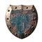 Stock Image : Metal Rustic Shield
