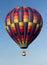 Stock Image :  METAMORA,密执安- 2013年8月24日:热空气气球节日
